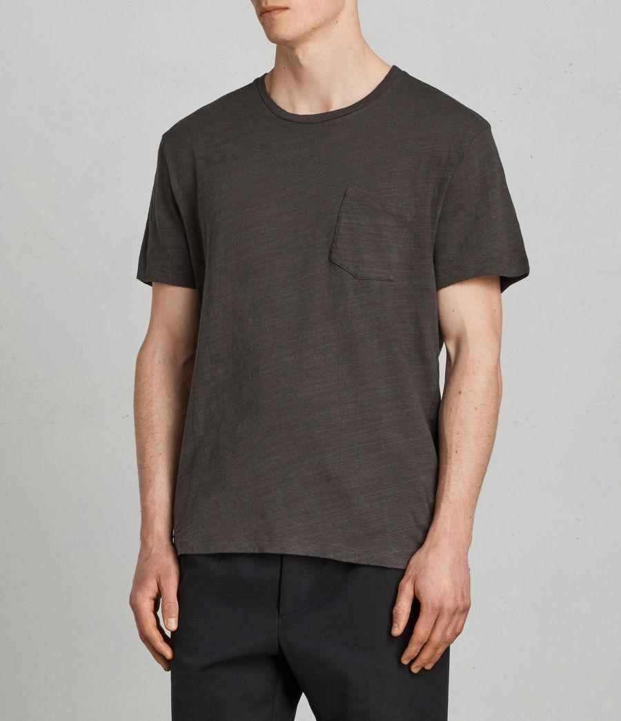Herren Tye T-Shirt (washed_black) - Image 3