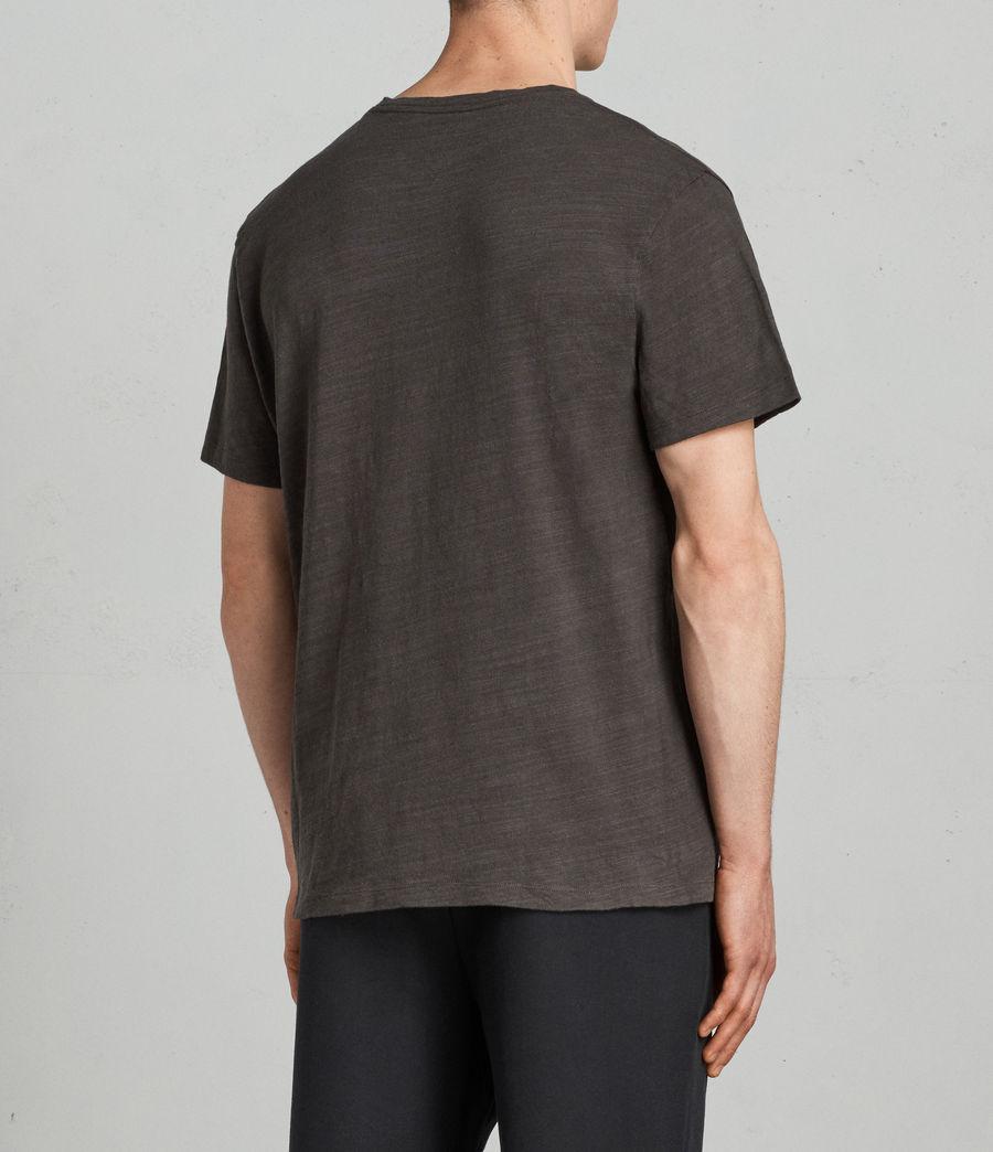 Herren Tye T-Shirt (washed_black) - Image 4
