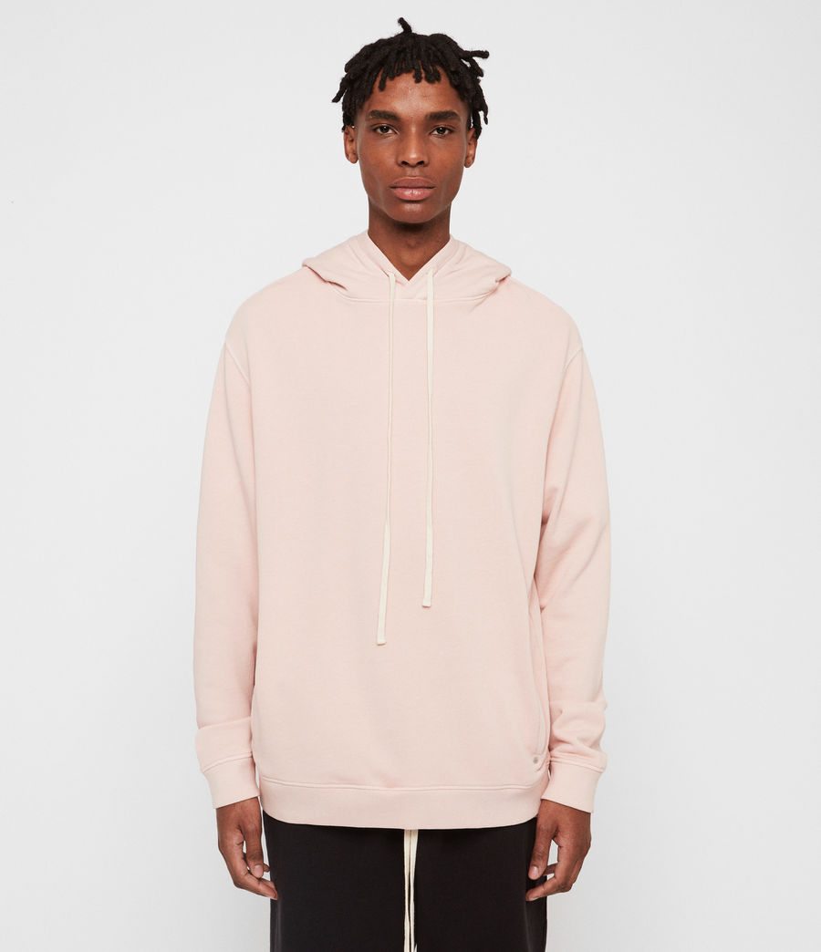 Hombre Avio Pullover Hoodie (bleach_pink) - Image 2