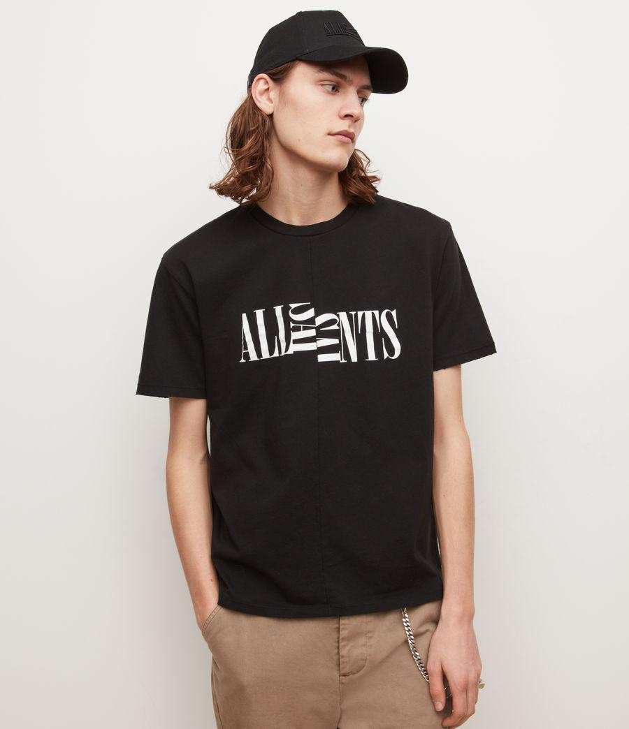 Men's Nico Crew T-Shirt (jet_black) - Image 4