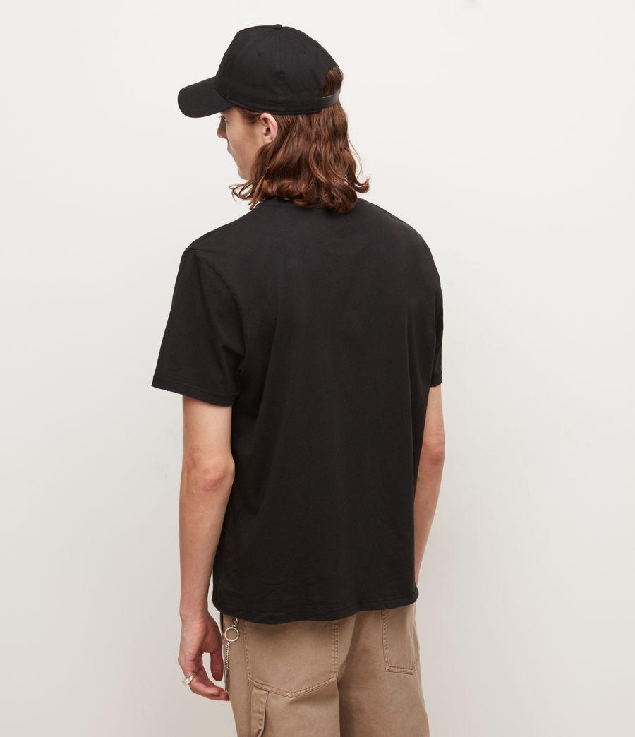 Men's Nico Crew T-Shirt (jet_black) - Image 6
