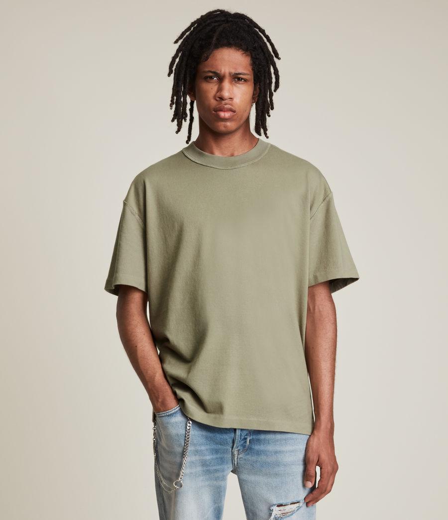 Mens Isac Crew T-Shirt (pier_grey) - Image 1