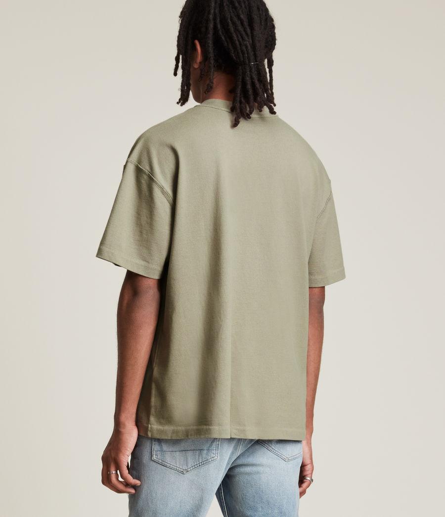 Mens Isac Crew T-Shirt (pier_grey) - Image 4