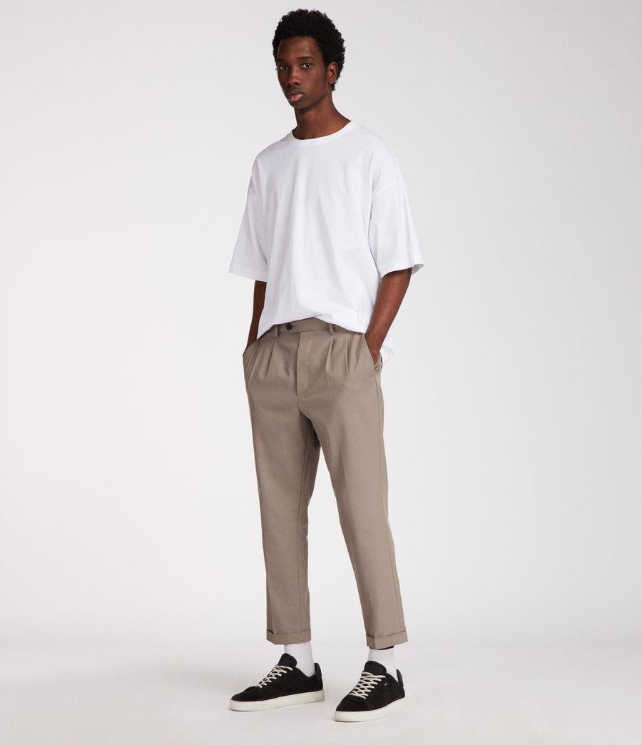 Mens Atnom Crew T-Shirt (optic_white) - Image 2