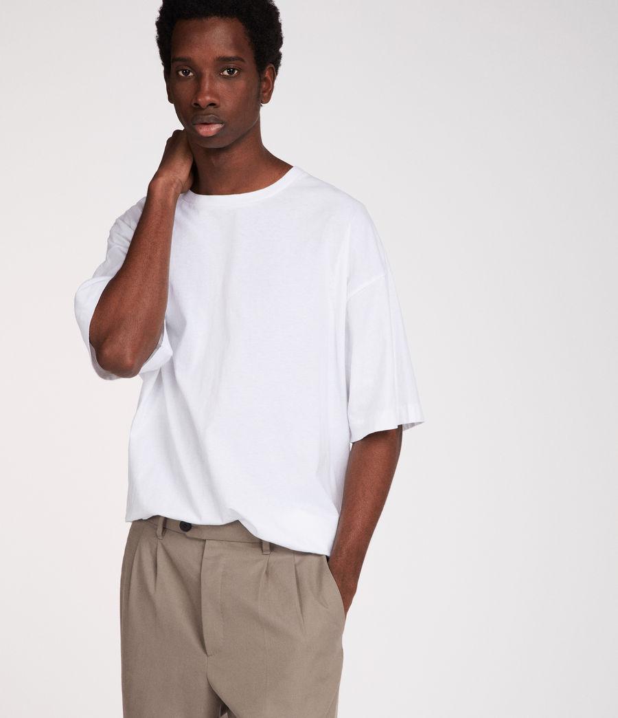 Mens Atnom Crew T-Shirt (optic_white) - Image 3