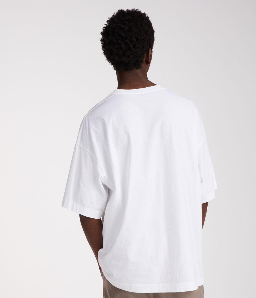 Mens Atnom Crew T-Shirt (optic_white) - Image 4