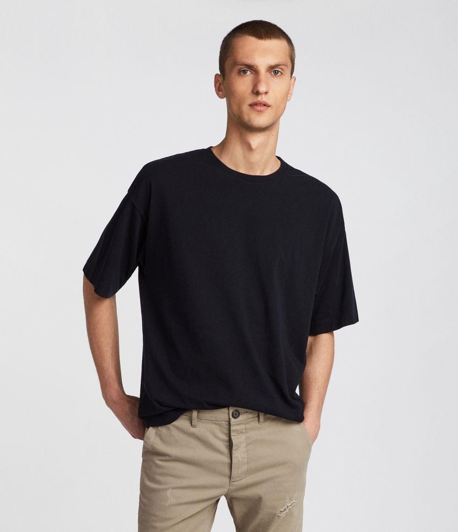 Mens Atnom Crew T-Shirt (jet_black) - Image 1