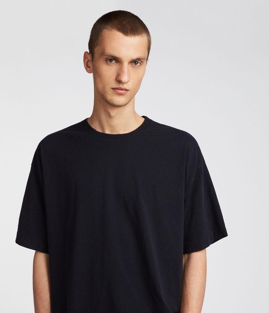 Men's Atnom Crew T-Shirt (jet_black) - Image 2