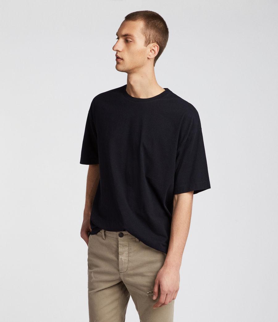 Mens Atnom Crew T-Shirt (jet_black) - Image 3