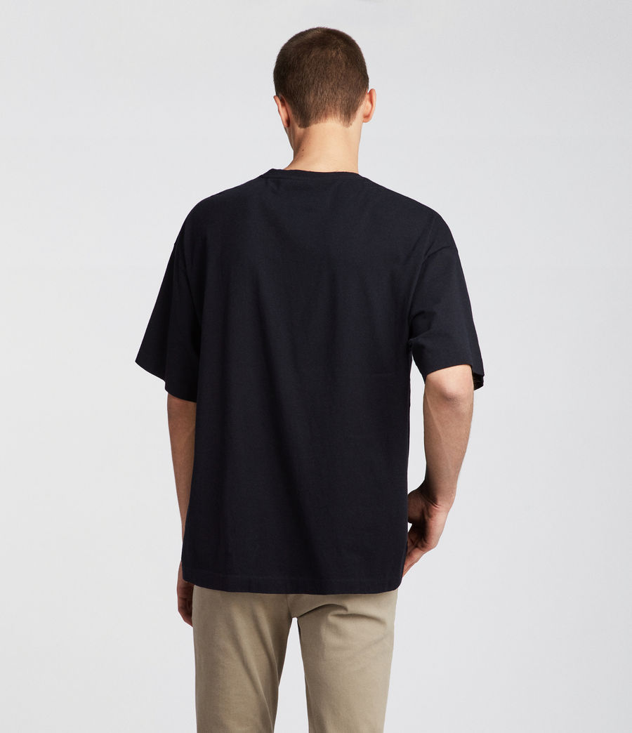 Men's Atnom Crew T-Shirt (jet_black) - Image 4