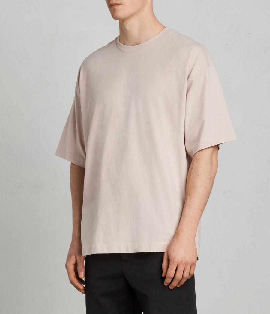 Mens Atnom Crew T-Shirt (river_pink) - Image 2