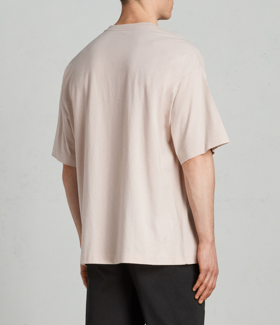 Hombres Camiseta Atnom (river_pink) - Image 3