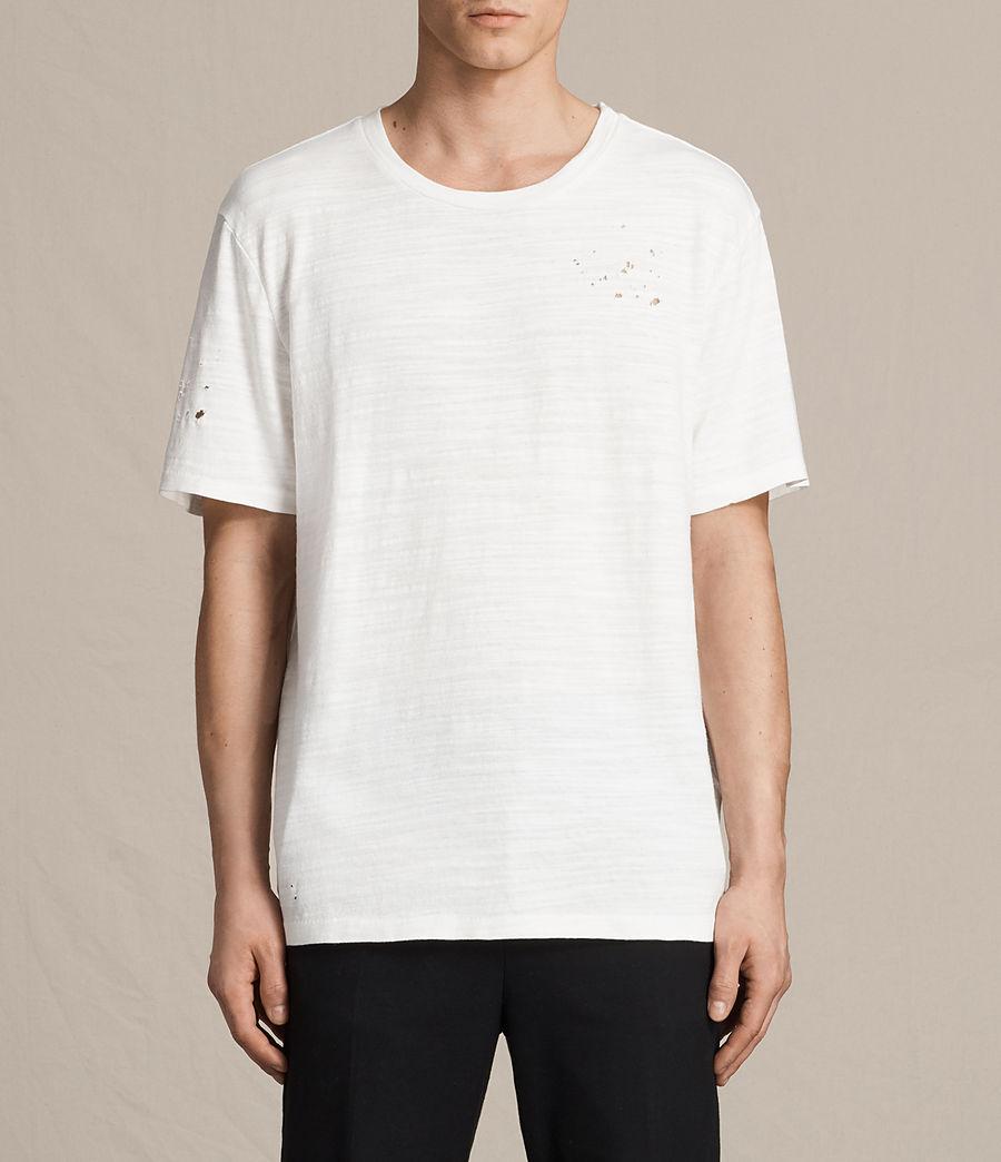 Hombres Camiseta Archie (chalk_white) - Image 1