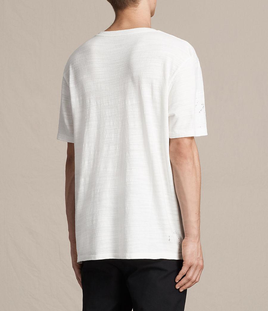 Hombres Camiseta Archie (chalk_white) - Image 4