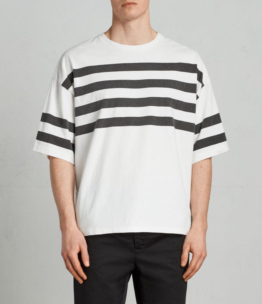 Hombre Camiseta Public (chalk_white_black) - Image 1