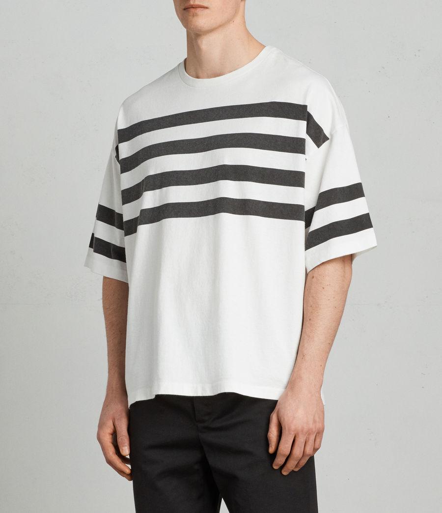 Hombre Camiseta Public (chalk_white_black) - Image 3