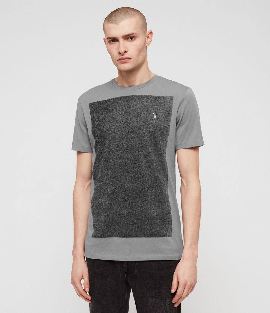 Men's Lobke Crew T-Shirt (grey_marl) - Image 2
