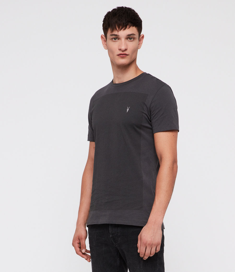 Hombre Lobke Crew T-Shirt (washed_black) - Image 3