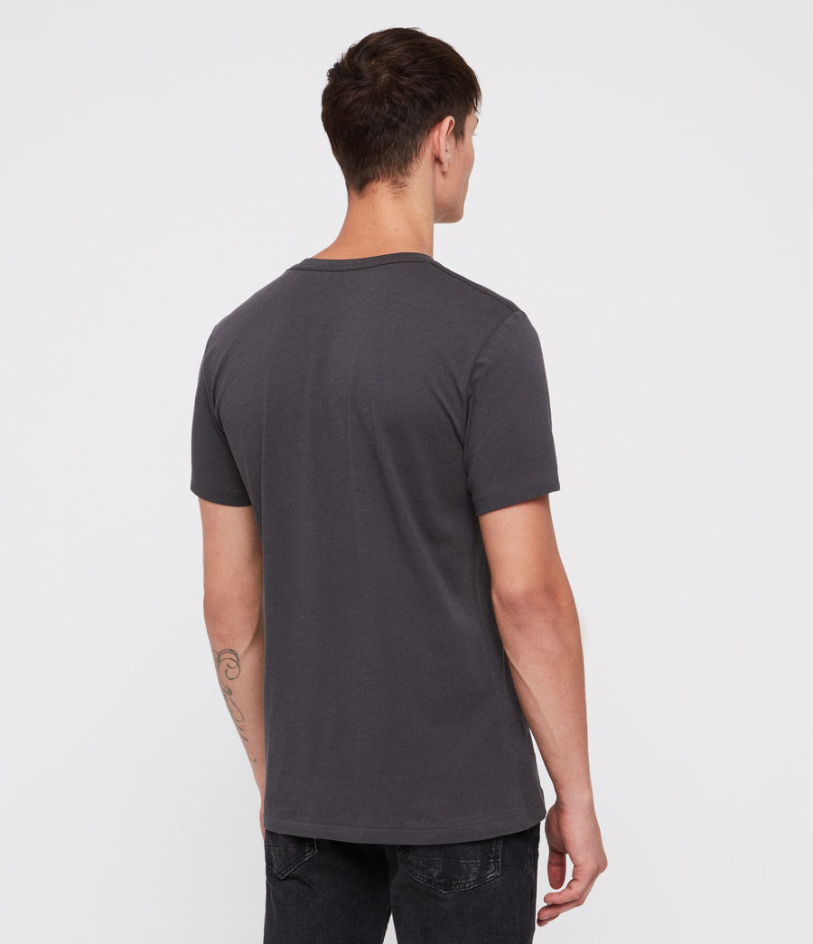 Hombre Lobke Crew T-Shirt (washed_black) - Image 4