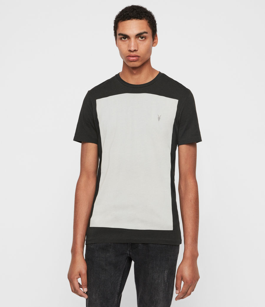 Mens Lobke Crew T-Shirt (black) - Image 1
