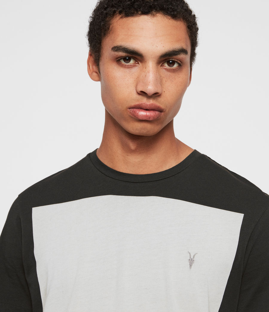 Mens Lobke Crew T-Shirt (black) - Image 3