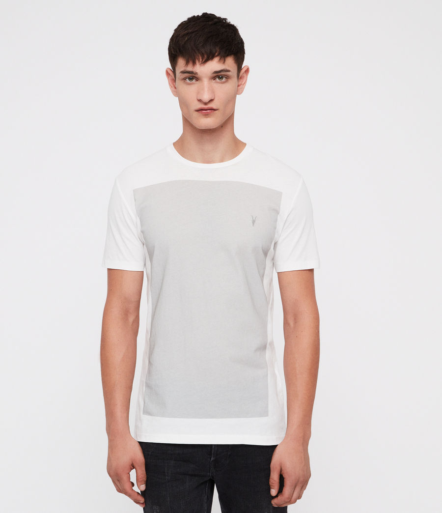 Mens Lobke Crew T-Shirt (chalk_mine_grey) - Image 1