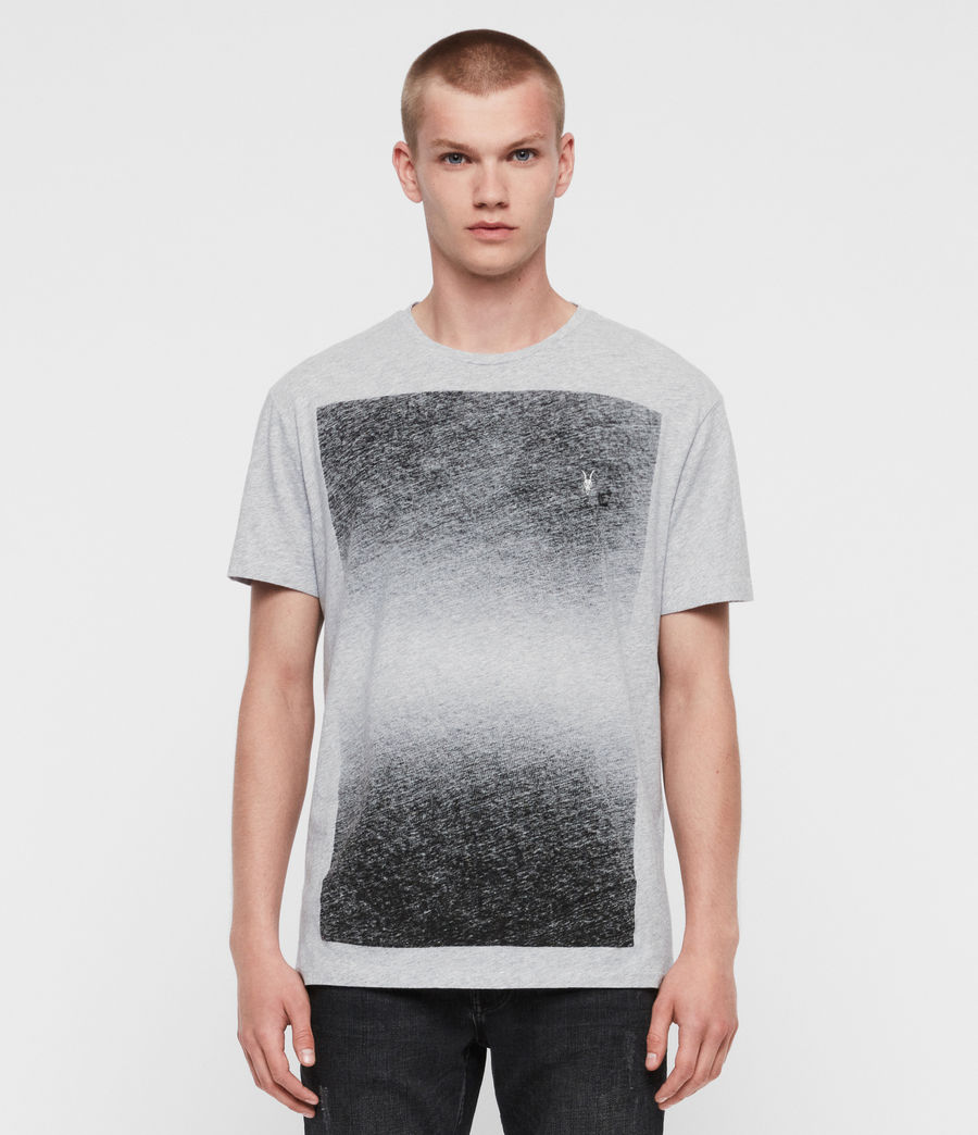 Hombres Camiseta Rufus (grey_marl) - Image 1