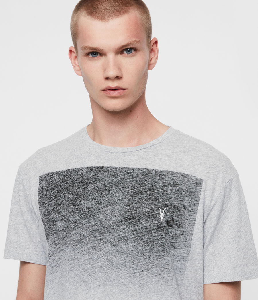 Men's Rufus Crew T-Shirt (grey_marl) - Image 2