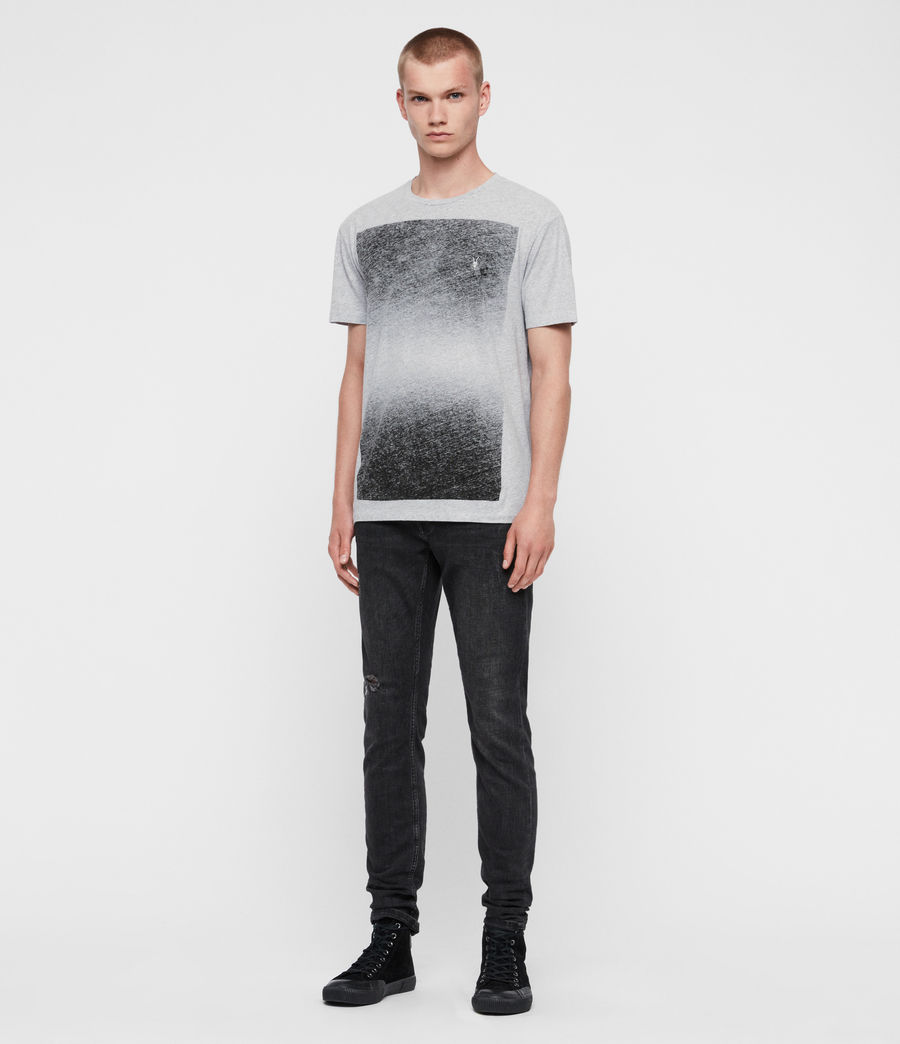 Men's Rufus Crew T-Shirt (grey_marl) - Image 3