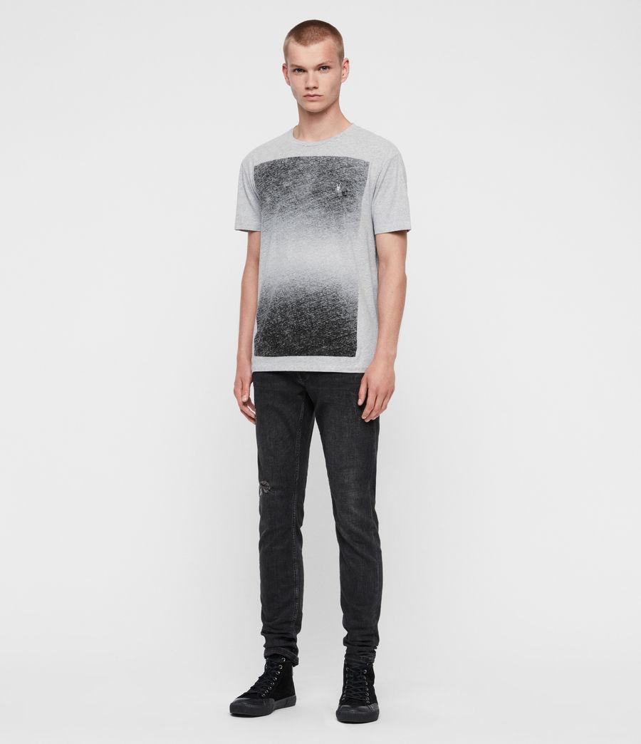 Hombres Camiseta Rufus (grey_marl) - Image 3