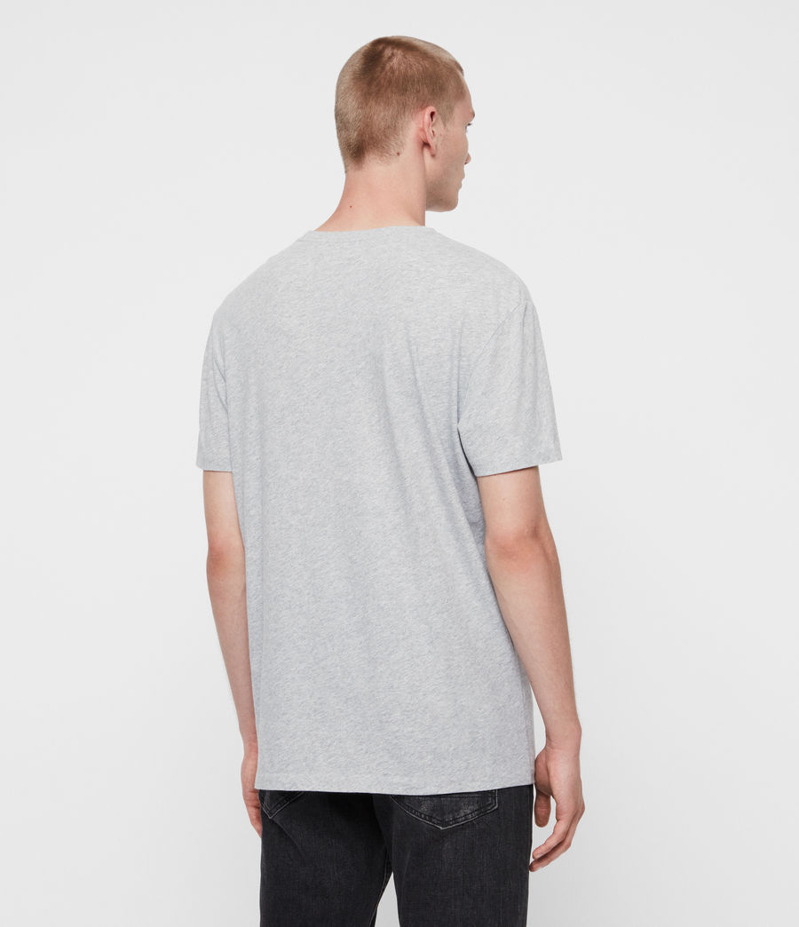 Men's Rufus Crew T-Shirt (grey_marl) - Image 4