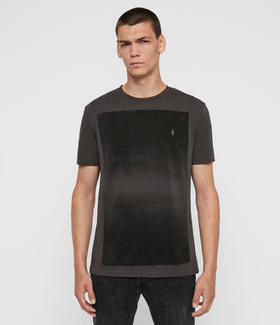 Uomo T-shirt Rufus (washed_black) - Image 1