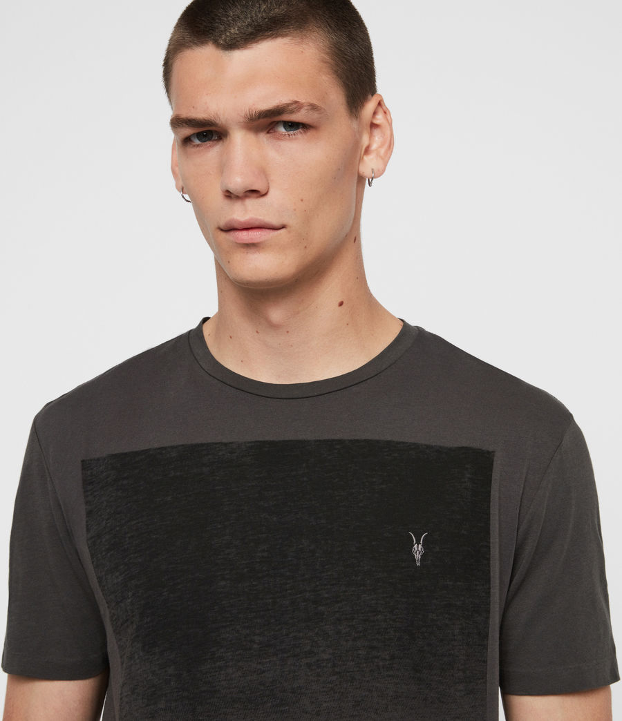 Uomo T-shirt Rufus (washed_black) - Image 2