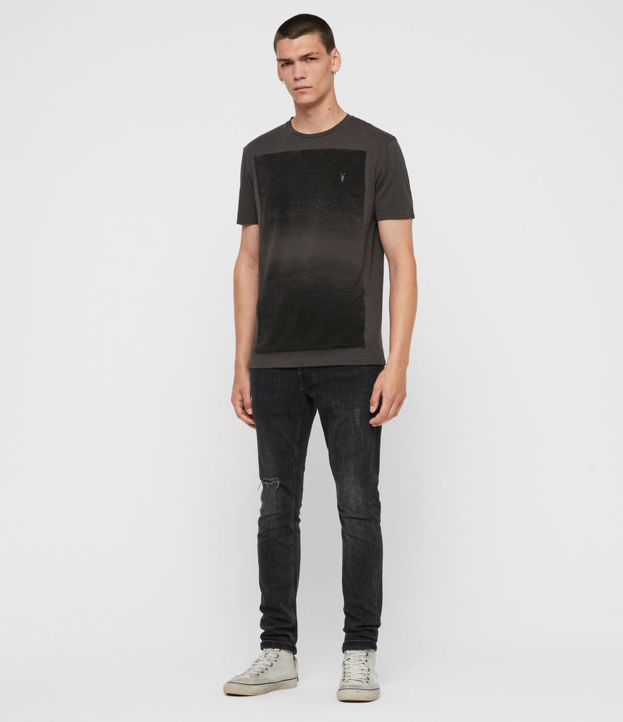 Uomo T-shirt Rufus (washed_black) - Image 3