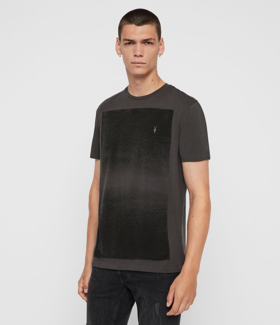 Men's Rufus Crew T-Shirt (washed_black) - Image 4