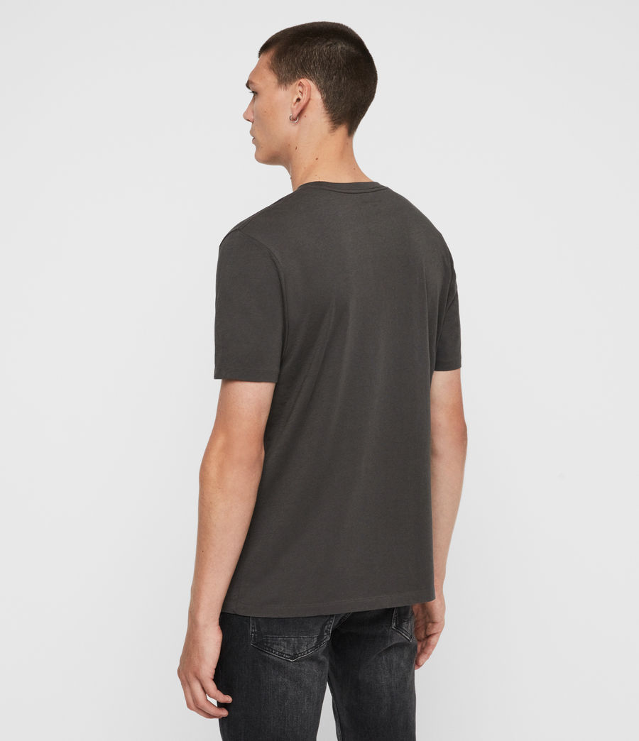 Men's Rufus Crew T-Shirt (washed_black) - Image 5