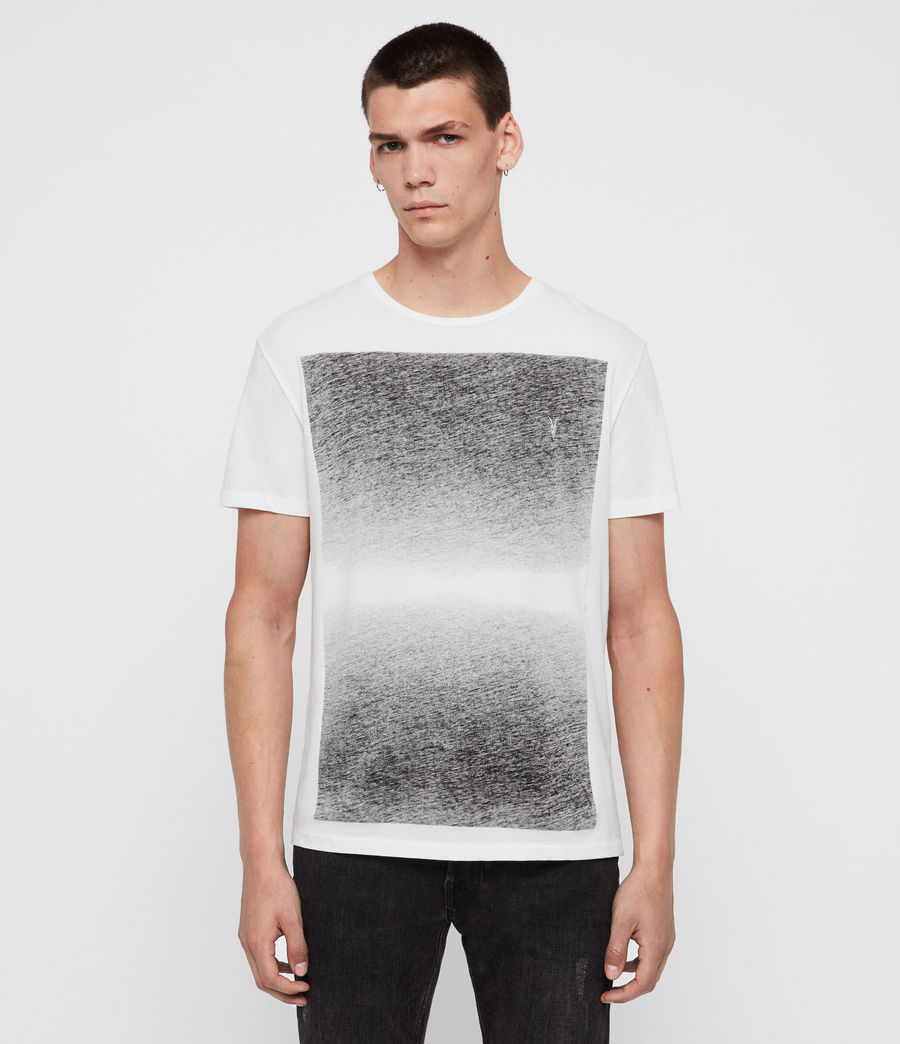 Mens Rufus Crew T-Shirt (washed_black) - Image 1