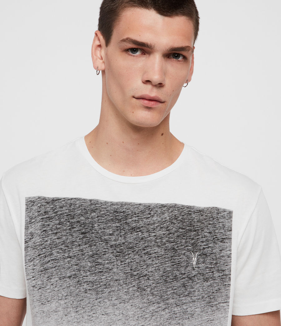 Mens Rufus Crew T-Shirt (chalk_white) - Image 2