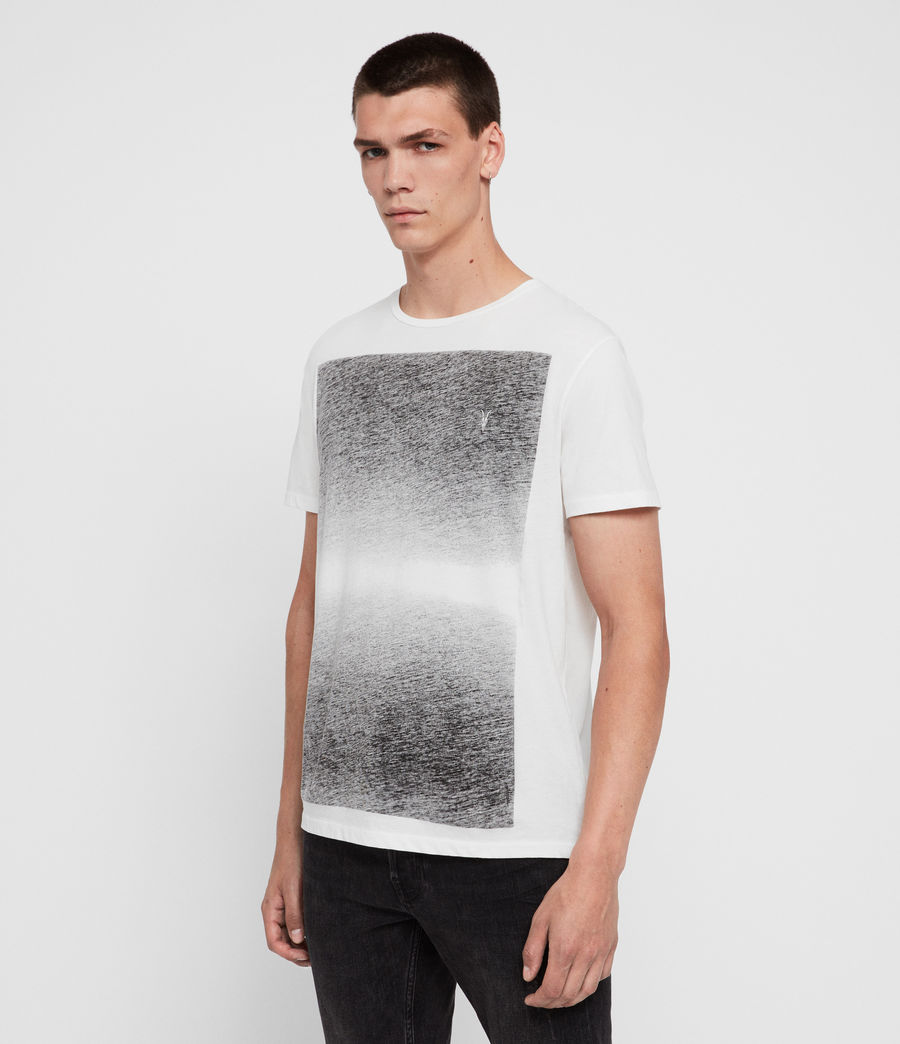 Mens Rufus Crew T-Shirt (chalk_white) - Image 4