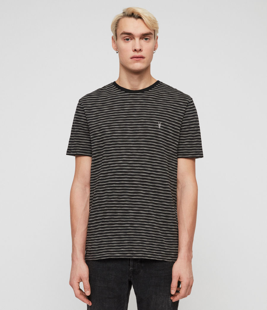 Hommes T-Shirt Mana (cinder_black_grey) - Image 1