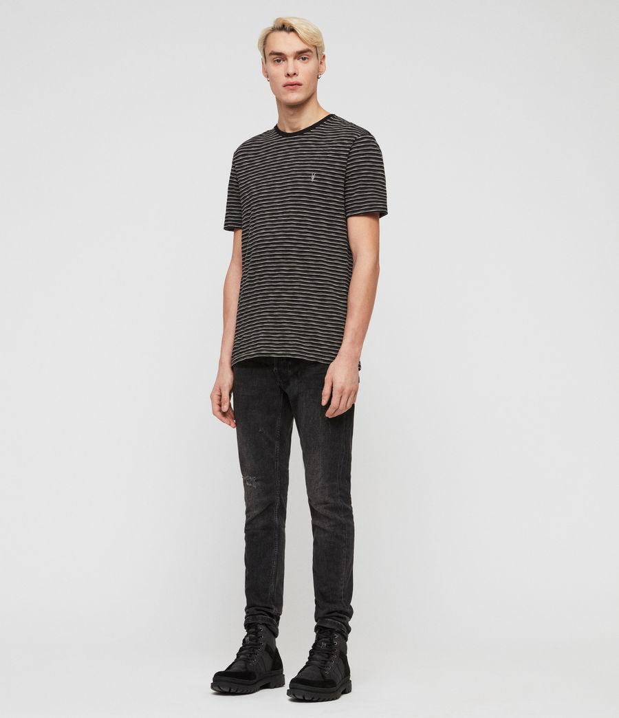 Hommes T-Shirt Mana (cinder_black_grey) - Image 3