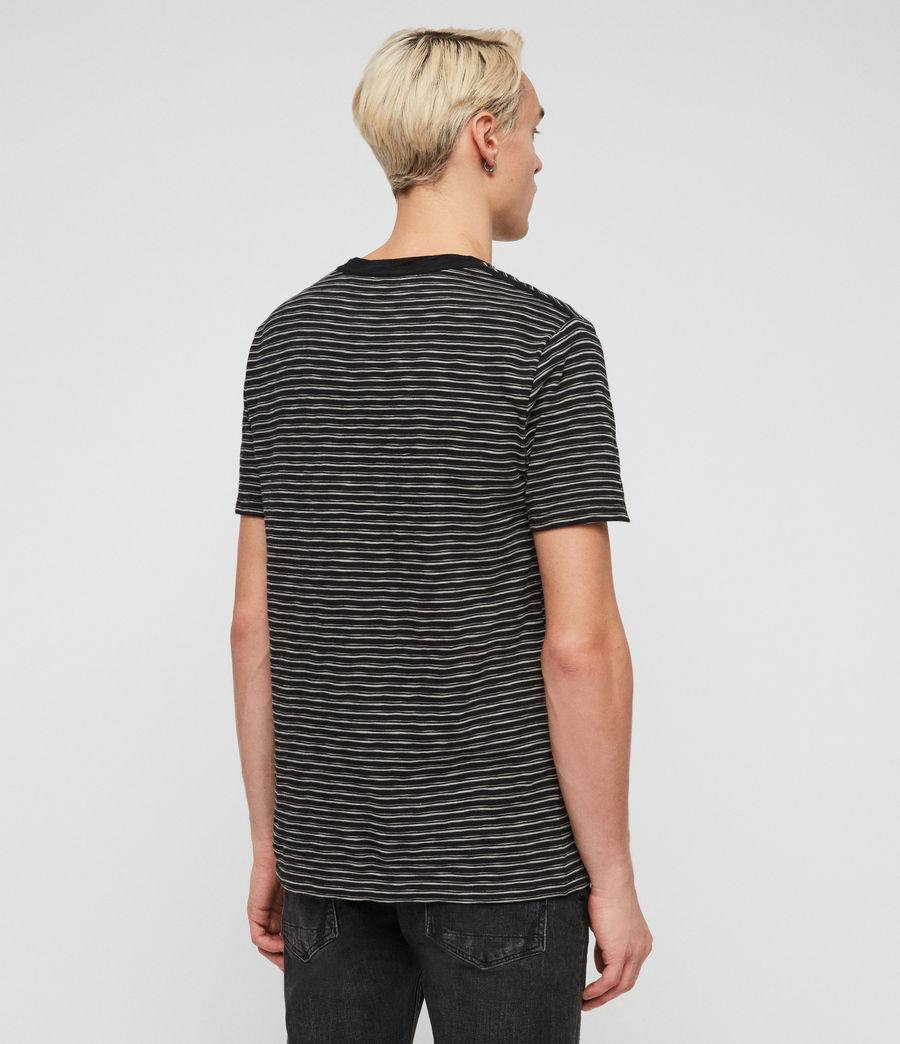 Hommes T-Shirt Mana (cinder_black_grey) - Image 4