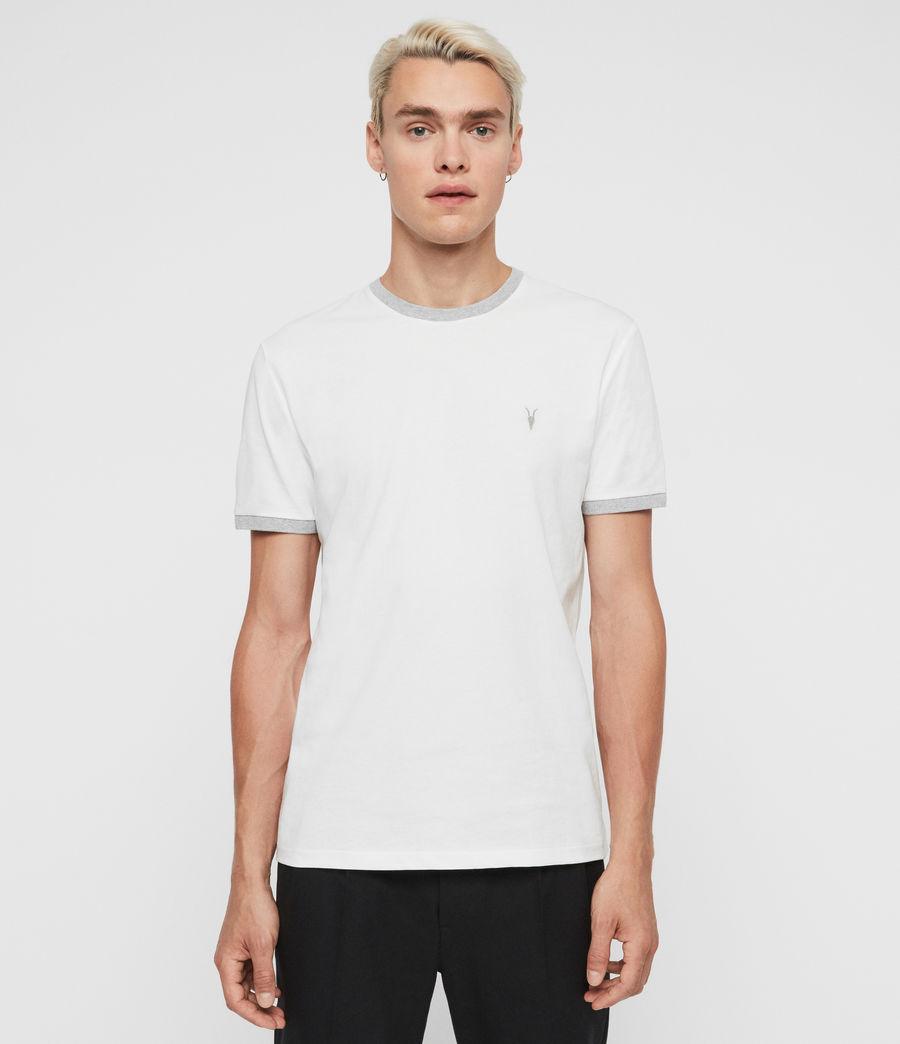 Hommes T-Shirt à Manches Courtes Oakham (chalk_grey_marl) - Image 1