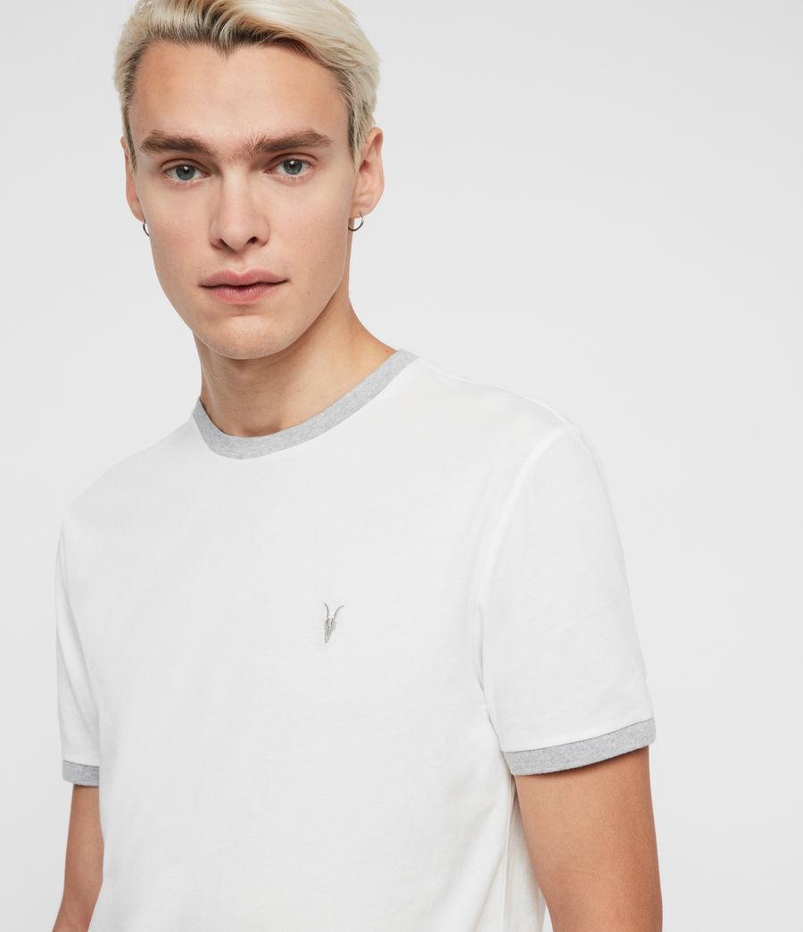 Hommes T-Shirt à Manches Courtes Oakham (chalk_grey_marl) - Image 2