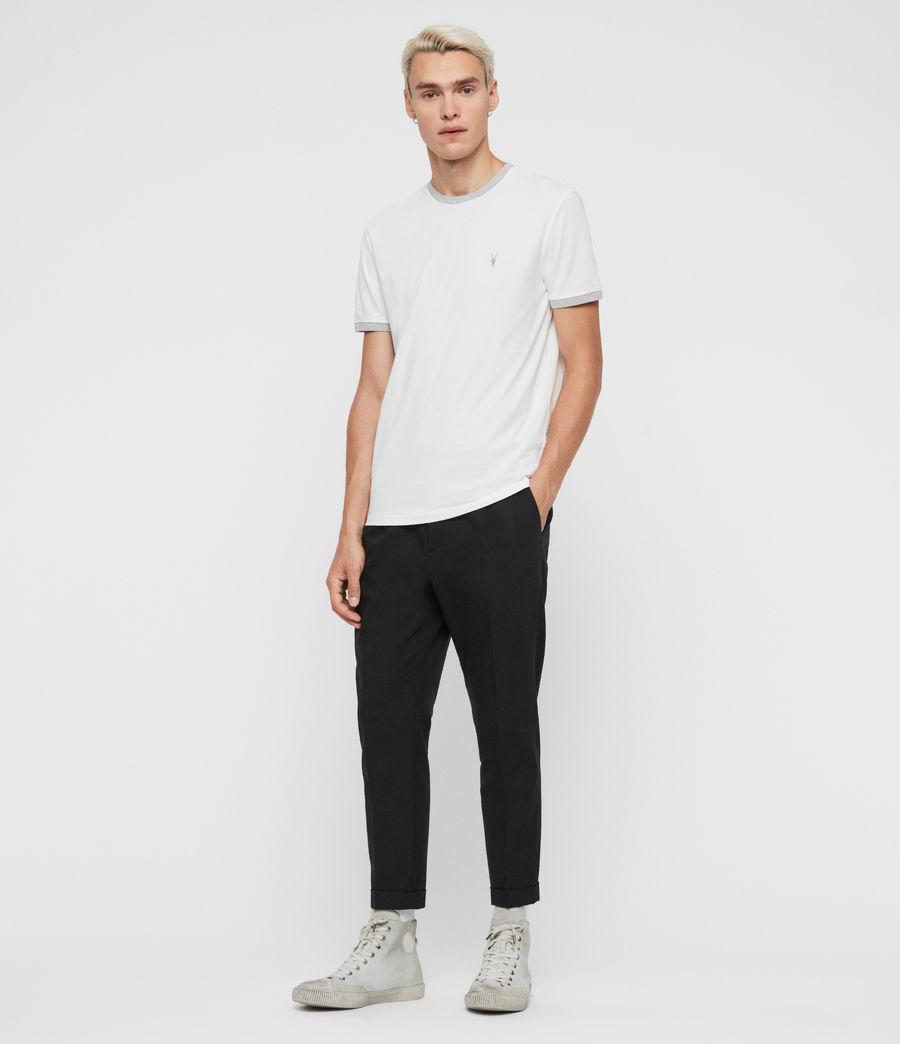 Hommes T-Shirt à Manches Courtes Oakham (chalk_grey_marl) - Image 3