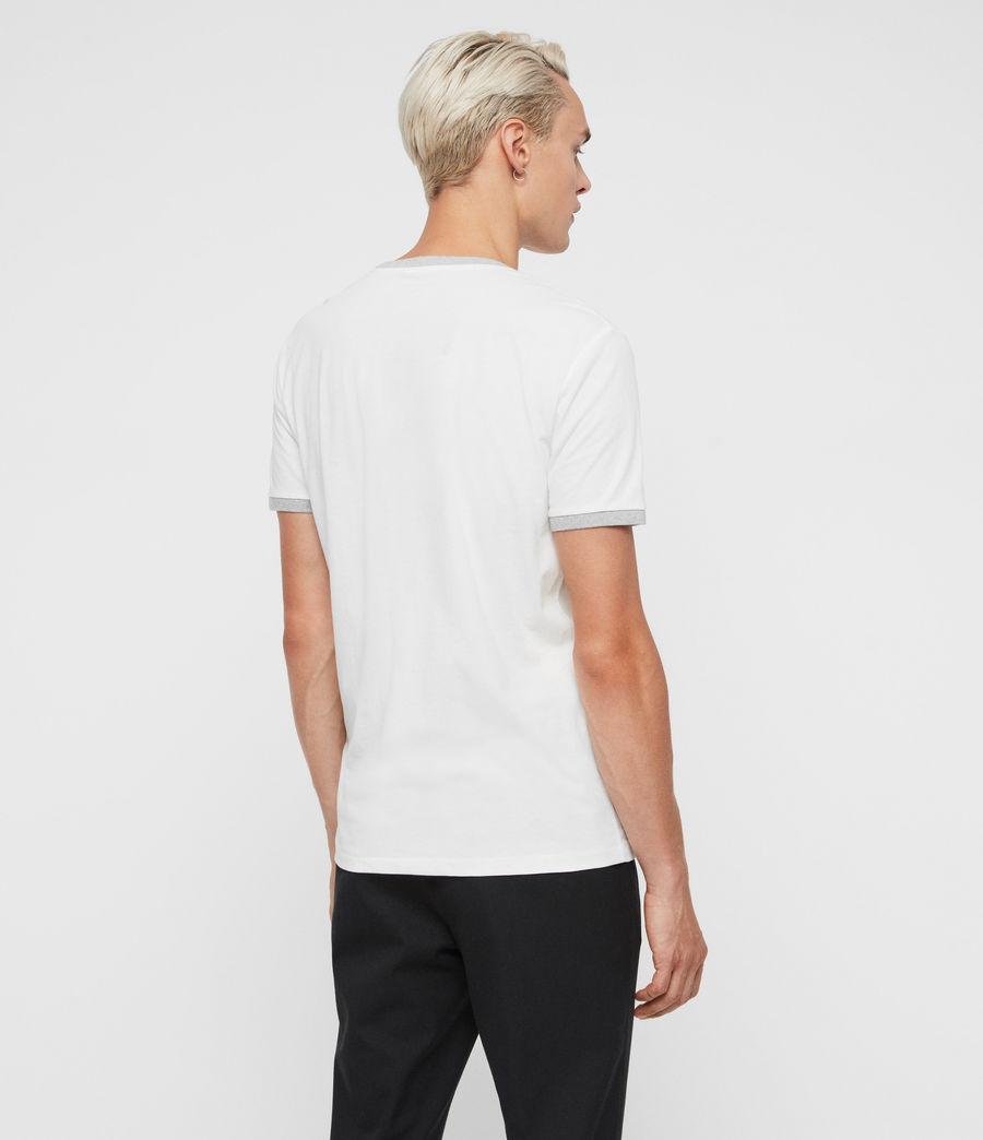 Herren Oakham T-Shirt (chalk_grey_marl) - Image 4