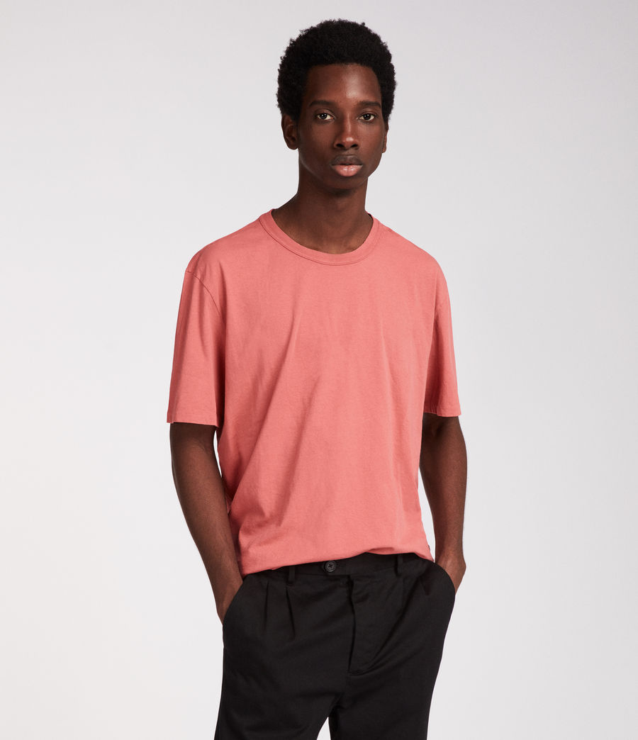 Hommes T-Shirt Interger (pink) - Image 1