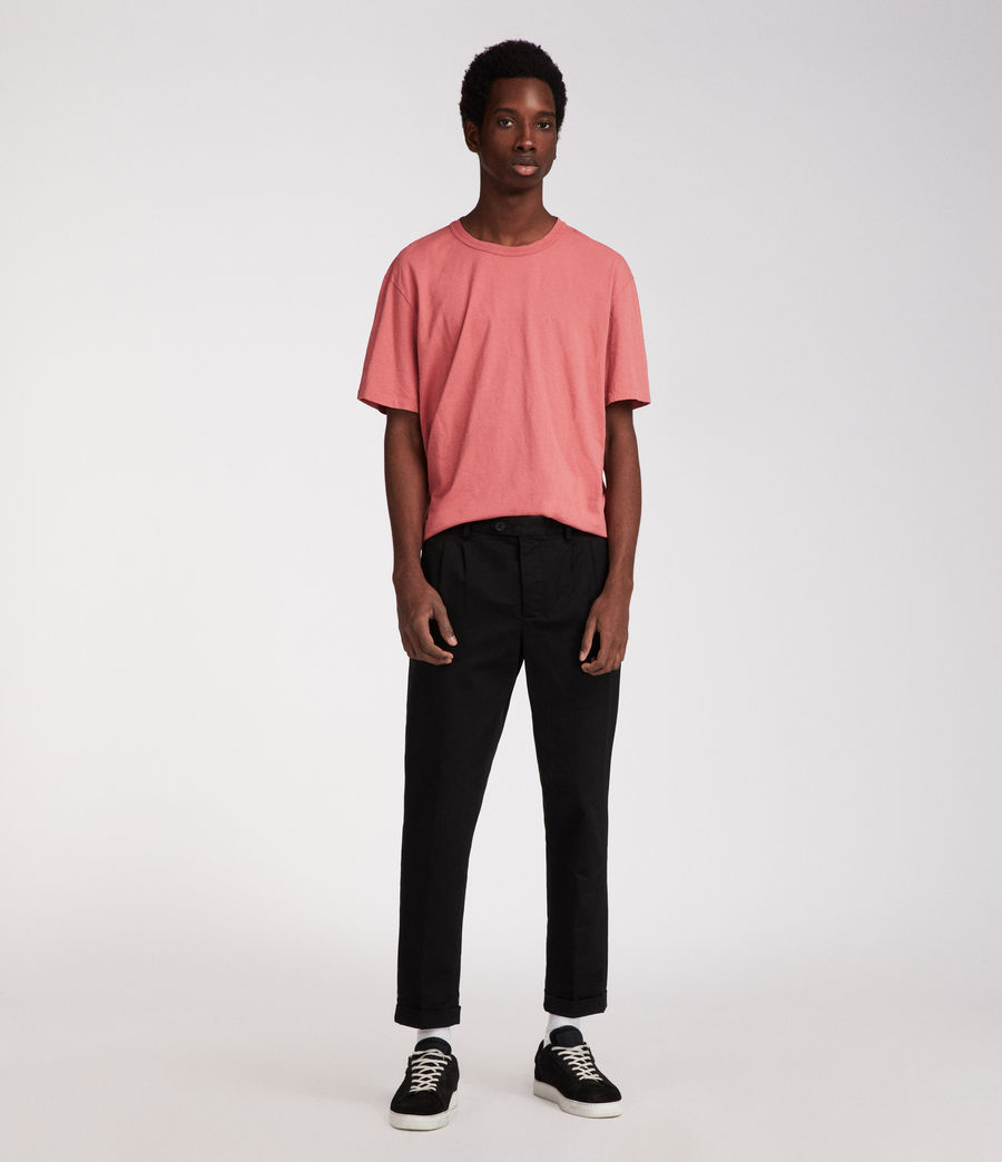 Men's Interger Crew T-Shirt (pink) - Image 2
