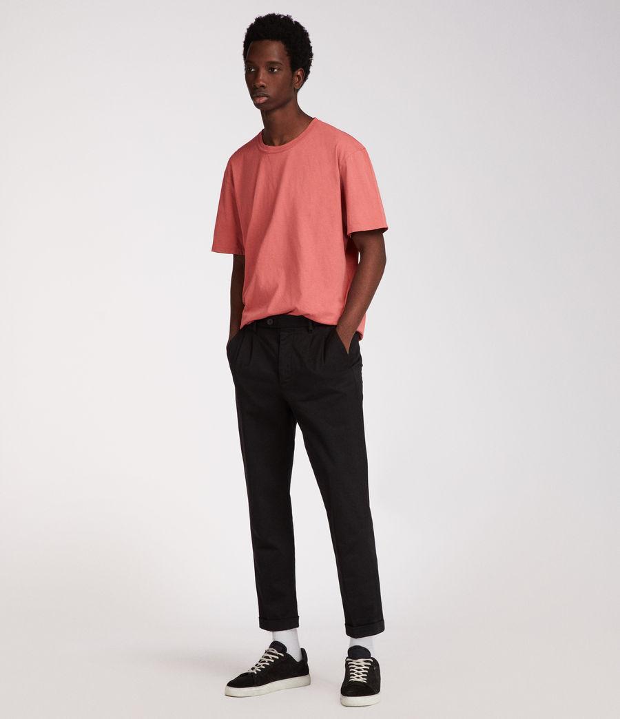Men's Interger Crew T-Shirt (pink) - Image 3