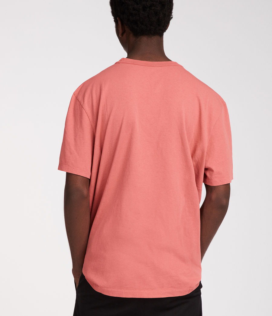 Hommes T-Shirt Interger (pink) - Image 4